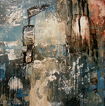image of acrylic painting Forgotten Portal by Carron Berkes