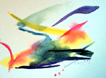 image of watercolour painting Abstract #10 by Carron Berkes