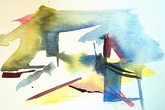 image of watercolour painting Abstract #7 by Carron Berkes